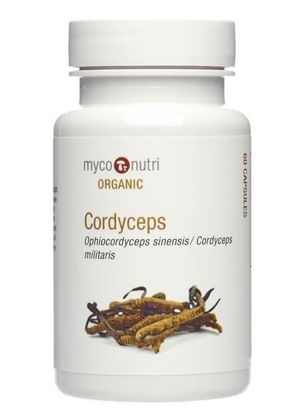 MycoNutri Organic Cordyceps 60 Capsules