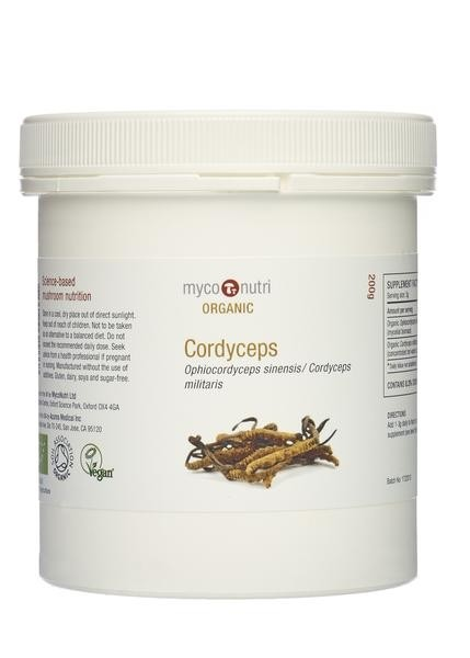 MycoNutri Organic Cordyceps powder 200g