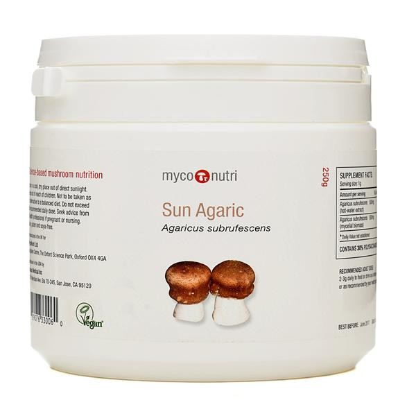 MycoNutri Sun Agaric 250grms Powder