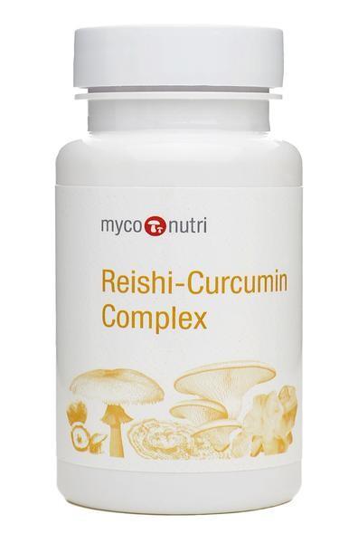 MycoNutri Reishi-Curcumin 60 Capsules