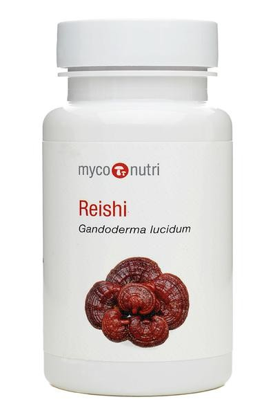 MycoNutri Reishi 60 Vegetarian Capsules