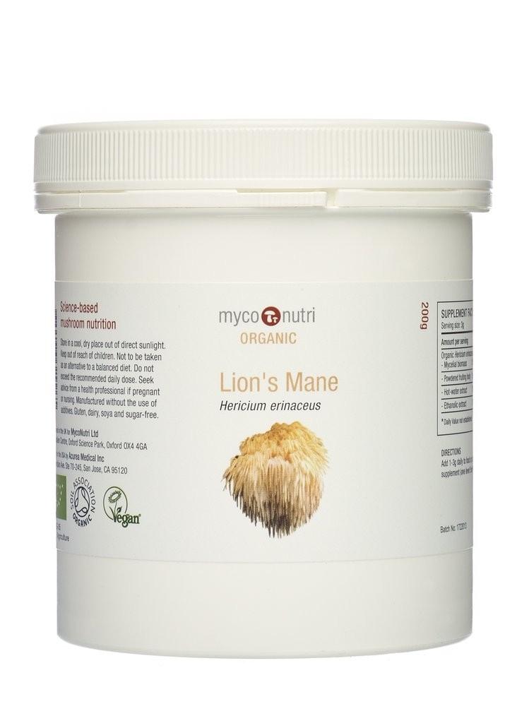 MycoNutri Organic Lion's Mane - 200g