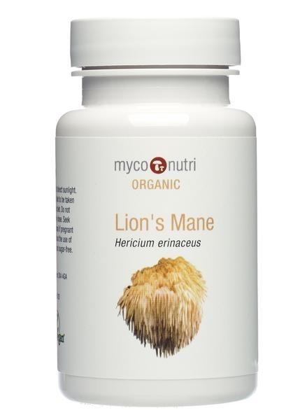 MycoNutri Organic Lion's Mane - 60 vcaps