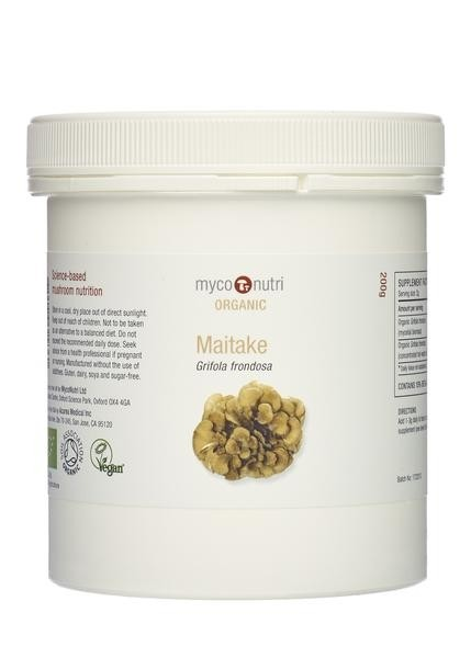 Organic MycoNutri Maitake powder 200g (Grifola frondosa)