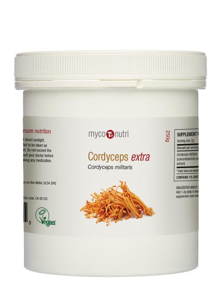 NEW MycoNutri Cordyceps EXTRA 250g Powder