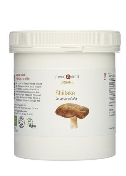 Organic MycoNutri Shiitake - 200g