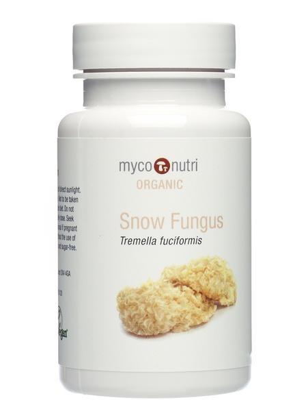 Organic MycoNutri Snow Fungus - 60 vcaps