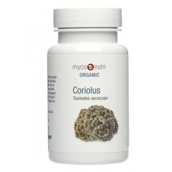 MycoNutri Organic Coriolus 60 capsules (Trametes versicolor)