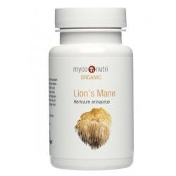 MycoNutri Organic Lions Mane 60 capsules (Hericium erinaceus)