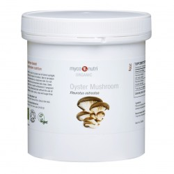 Organic MycoNutri Oyster Mushroom powder 200g (Pleurotus ostreatus)