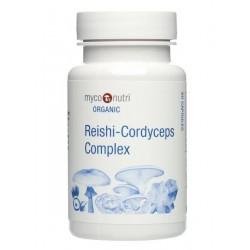MycoNutri Organic Reishi-Cordyceps Complex 60 capsules