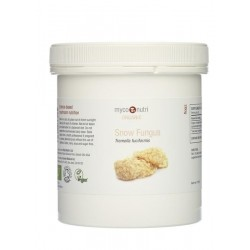 MycoNutri Organic Snow Fungus powder 200g (Tremella fuciformis)
